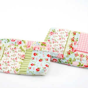 floral make-up bag