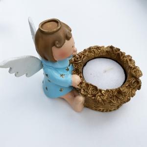 blue angel t-light holder