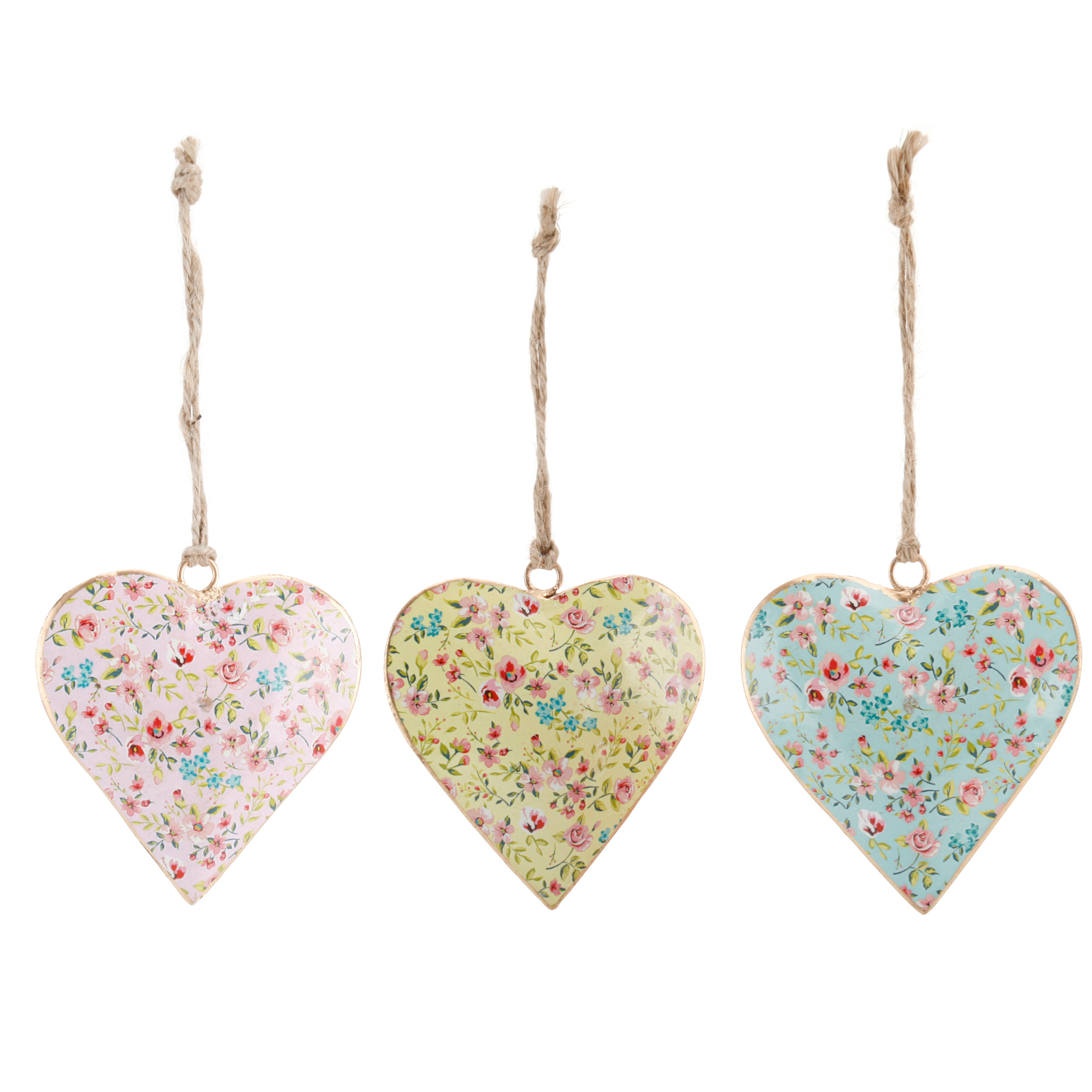 Small floral hanging heart
